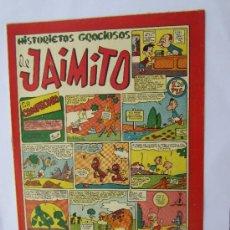 Tebeos: JAIMITO - NUMERO 95 , HISTORIETAS GRACIOSAS , EDITORIAL VALENCIANA - COMO NUEVO. Lote 32332727