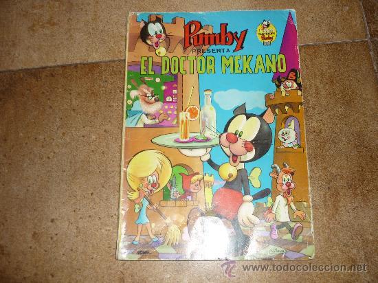 LIBROS ILUSTRADOS PUMBY Nº 7 EDIVAL 1968 35 PTS EL DOCTOR MEKANO GENERAL (Tebeos y Comics - Valenciana - Pumby)