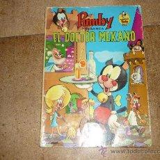 Tebeos: LIBROS ILUSTRADOS PUMBY Nº 7 EDIVAL 1968 35 PTS EL DOCTOR MEKANO GENERAL. Lote 32334460