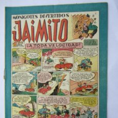 Tebeos: JAIMITO - NUMERO 76 , MONIGOTES DIVERTIDOS , EDITORIAL VALENCIANA - COMO NUEVO. Lote 32335934