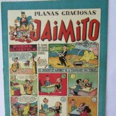 Tebeos: JAIMITO - NUMERO 77 , PLANAS GRACIOSAS , EDITORIAL VALENCIANA - COMO NUEVO. Lote 32335938
