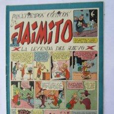 Tebeos: JAIMITO - NUMERO 90 , PASATIEMPOS COMICOS , EDITORIAL VALENCIANA - COMO NUEVO. Lote 32335956