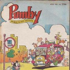 Tebeos: PUMBY Nº 236. Lote 32337121