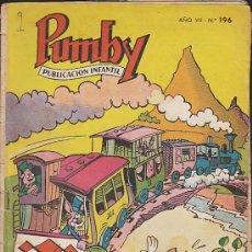 Tebeos: PUMBY Nº 196. Lote 32337254