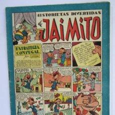 Tebeos: JAIMITO , HISTORIETAS DIVERTIDAS , NUMERO 74 , VALENCIANA 1945 , MUY BUENA CONSERVACION. Lote 32407742
