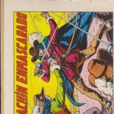Tebeos: EL ESPADACHÍN ENMASCARADO Nº 1. VALENCIANA 1981.. Lote 32533468