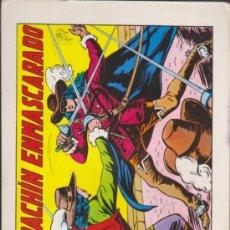 Tebeos: EL ESPADACHÍN ENMASCARADO Nº 1. VALENCIANA 1981.. Lote 32533513