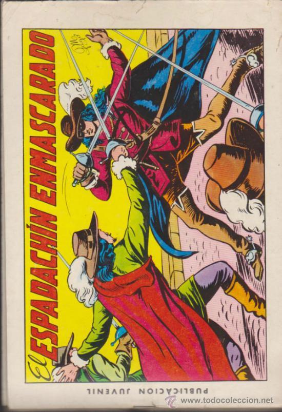 EL ESPADACHÍN ENMASCARADO. LOTE DE 13 EJEMPLARES ENTRE EL 1 Y 73. VALENCIANA 1981 (Tebeos y Comics - Valenciana - Espadachín Enmascarado)