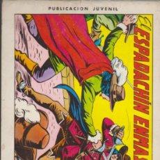 Tebeos: EL ESPADACHÍN ENMASCARADO Nº 1. VALENCIANA 1981.. Lote 32533564