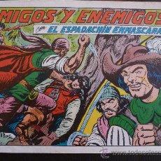 Tebeos: COMIC-EL ESPADACHÍN ENMASCARADO Nº 39. VALENCIANA . Lote 38221621