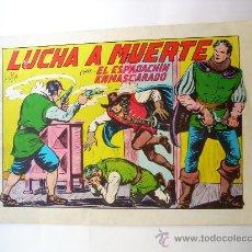 Tebeos: EL ESPADACHIN ENMASCARADO--Nº 10--2ª EDICION ORIGINAL. Lote 32612773