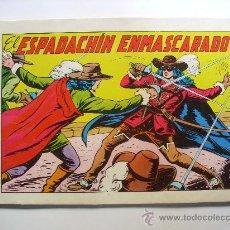Tebeos: EL ESPADACHIN ENMASCARADO--Nº 1--2ª EDICION ORIGINAL. Lote 32612808