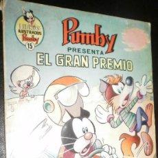 Tebeos: LIBROS ILUSTRADOS PUMBY 15 EL GRAN PREMIO EDITORIAL VALENCIANA. Lote 32629604