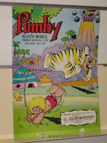 PUMBY Nº 1180 - EDITORIAL VALENCIANA (Tebeos y Comics - Valenciana - Pumby)