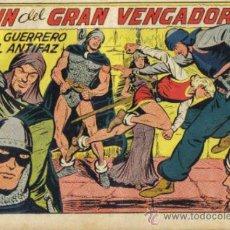 Tebeos: EL GUERRERO DEL ANTIFAZ Nº 220. EL FIN DEL GRAN VENGADOR. VALENCIANA.. Lote 32861084