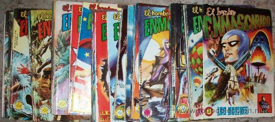 EL HOMBRE ENMASCARADO (VALENCIANA) LOTE DE 26 NUMEROS (Tebeos y Comics - Valenciana - Colosos del Comic)