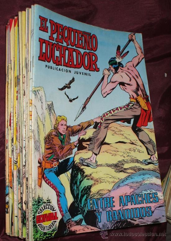 LOTE DE 27 COMICS EL PEQUEÑO LUCHADOR DE EDIT. VALENCIANA (Tebeos y Comics - Valenciana - Pequeño Luchador)