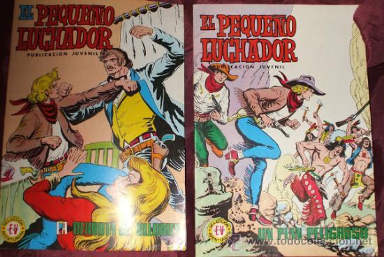 Tebeos: LOTE DE 27 COMICS EL PEQUEÑO LUCHADOR DE EDIT. VALENCIANA - Foto 2 - 32901340