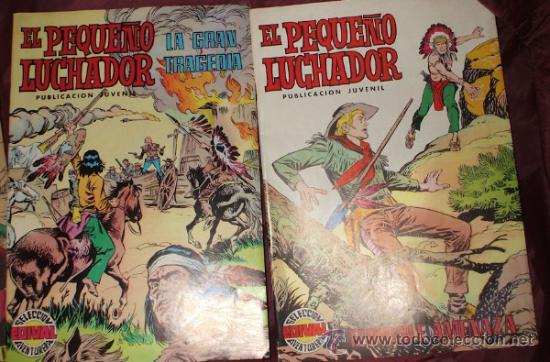 Tebeos: LOTE DE 27 COMICS EL PEQUEÑO LUCHADOR DE EDIT. VALENCIANA - Foto 12 - 32901340
