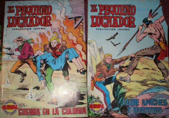 Tebeos: LOTE DE 27 COMICS EL PEQUEÑO LUCHADOR DE EDIT. VALENCIANA - Foto 14 - 32901340