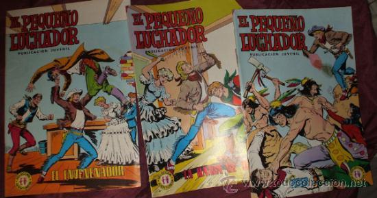 Tebeos: LOTE DE 27 COMICS EL PEQUEÑO LUCHADOR DE EDIT. VALENCIANA - Foto 15 - 32901340