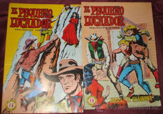 Tebeos: LOTE DE 27 COMICS EL PEQUEÑO LUCHADOR DE EDIT. VALENCIANA - Foto 3 - 32901340