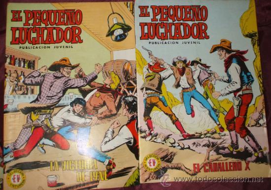 Tebeos: LOTE DE 27 COMICS EL PEQUEÑO LUCHADOR DE EDIT. VALENCIANA - Foto 4 - 32901340