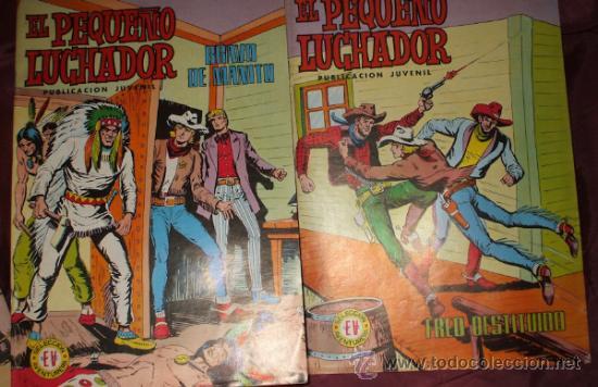 Tebeos: LOTE DE 27 COMICS EL PEQUEÑO LUCHADOR DE EDIT. VALENCIANA - Foto 5 - 32901340