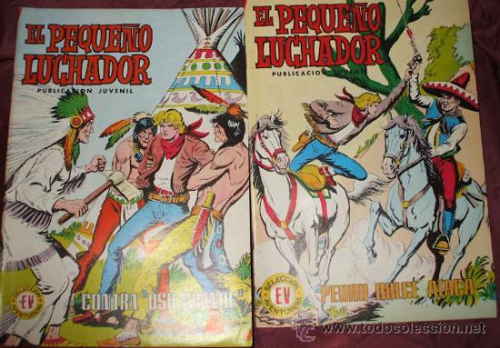 Tebeos: LOTE DE 27 COMICS EL PEQUEÑO LUCHADOR DE EDIT. VALENCIANA - Foto 6 - 32901340