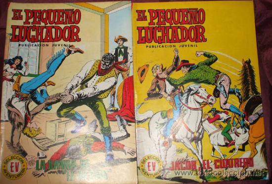 Tebeos: LOTE DE 27 COMICS EL PEQUEÑO LUCHADOR DE EDIT. VALENCIANA - Foto 7 - 32901340