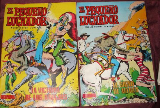 Tebeos: LOTE DE 27 COMICS EL PEQUEÑO LUCHADOR DE EDIT. VALENCIANA - Foto 8 - 32901340
