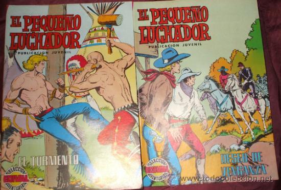 Tebeos: LOTE DE 27 COMICS EL PEQUEÑO LUCHADOR DE EDIT. VALENCIANA - Foto 9 - 32901340