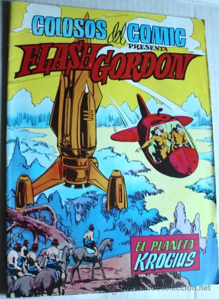 FLASH GORDON ( COLOSOS DEL COMIC) Nº11 : EL PLANETA KROGIUS. (Tebeos y Comics - Valenciana - Colosos del Comic)
