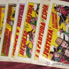 Tebeos: LOTE DE 10 TEBEOS ESPADACHIN ENMASCARADO 2ª EDICION 1981 DE EDIT. VALENCIANA. Lote 33121697
