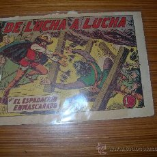 Tebeos: EL ESPADACHIN ENMASCARADO Nº 37 DE VALENCIANA . Lote 33238842