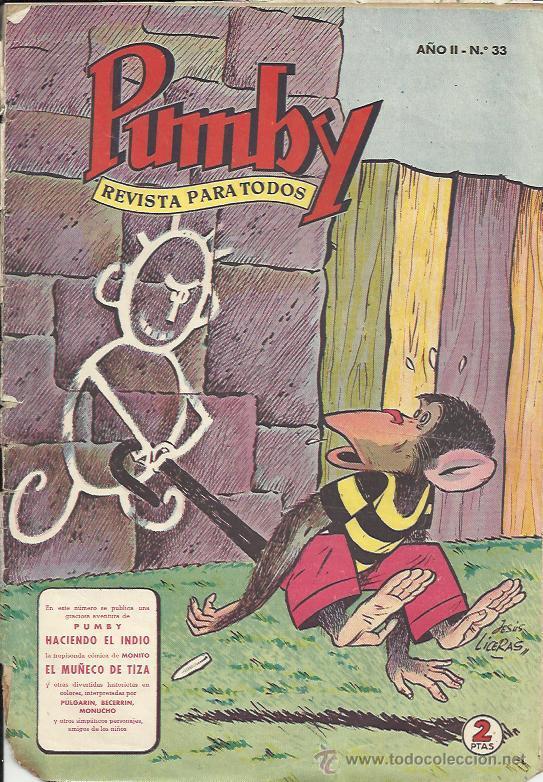 PUMBY ( VALENCIANA ) ORIGINAL 1955 - 1984 LOTE (Tebeos y Comics - Valenciana - Pumby)