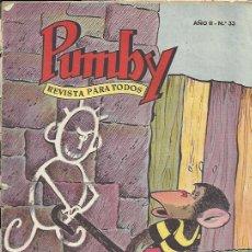 Tebeos: PUMBY ( VALENCIANA ) ORIGINAL 1955 - 1984 LOTE. Lote 33282766