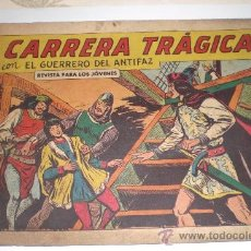 Tebeos: EL GUERRERO DEL ANTIFAZ - Nº 366 - CARRERA TRAGICA - EDIT. VALENCIANA -. Lote 118003718