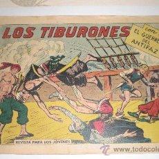 Tebeos: EL GUERRERO DEL ANTIFAZ - Nº 342 - LOS TIBURONES - EDIT. VALENCIANA -. Lote 33390082