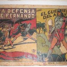 Tebeos: EL GUERRERO DEL ANTIFAZ - Nº 60-LA DEFENSA DE FERNANDO- EDIT. VALENCIANA -. Lote 33390546