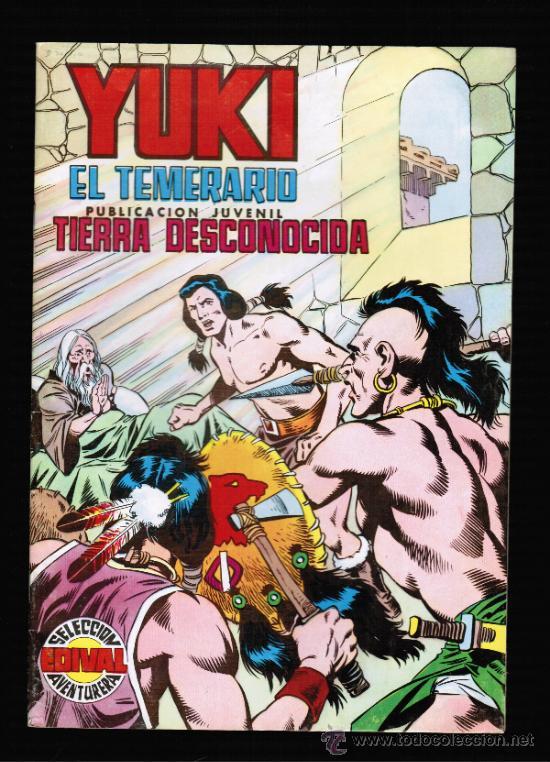 YUKI EL TEMERARIO Nº 19 - EDIVAL (Tebeos y Comics - Valenciana - Otros)