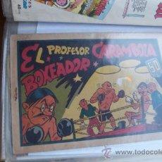 Tebeos: VALENCIANA EL PROFESOR CARAMBOLA Nº 9 DE 0,50 Y Nº 4 DE 1,50. Lote 33998843