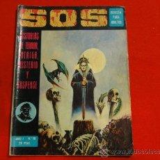 Livros de Banda Desenhada: SOS. Nº 10. 1ª EPOCA. ED. VALENCIANA. Lote 34004298