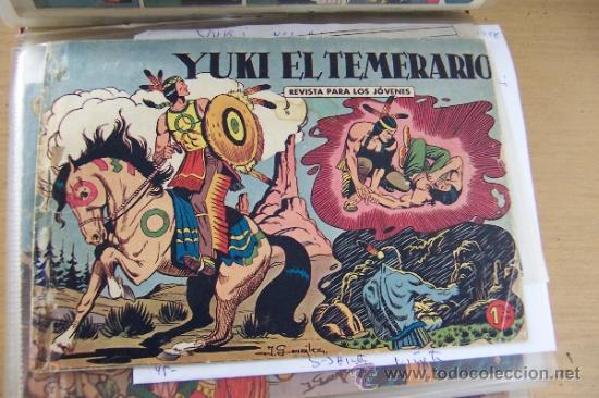 VALENCIANA YUKI EL TEMERARIO LOTE DEL Nº 1 AL 112 COMPLETA (Tebeos y Comics - Valenciana - Otros)