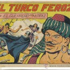 Tebeos: EL GUERRERO DEL ANTIFAZ Nº 135. EL TURCO FEROZ. ORIGINAL VALENCIANA.. Lote 34141811
