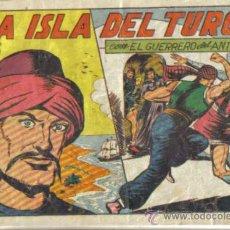 Tebeos: EL GUERRERO DEL ANTIFAZ Nº 122. LA ISLA DEL TURCO. ORIGINAL VALENCIANA.. Lote 34141871