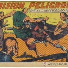 Tebeos: EL GUERRERO DEL ANTIFAZ Nº 107. MISION PELIGROSA. ORIGINAL VALENCIANA.. Lote 34142054