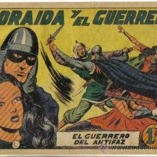 Tebeos: EL GUERRERO DEL ANTIFAZ Nº 106. ZORAIDA Y EL GUERRERO. ORIGINAL VALENCIANA.. Lote 34142080