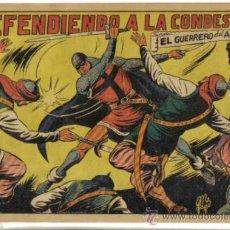 Tebeos: EL GUERRERO DEL ANTIFAZ Nº 104. DEFENDIENDO A LA CONDESITA. ORIGINAL VALENCIANA.. Lote 34142114