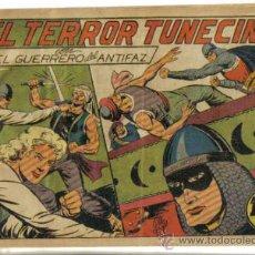 Tebeos: EL GUERRERO DEL ANTIFAZ Nº 101. EL TERROR TUNECINO. ORIGINAL VALENCIANA.. Lote 34142243
